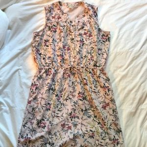 Catherine Malandrino sleeveless print dress